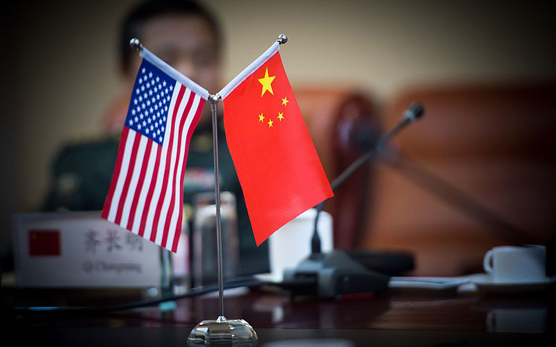 New area of conflict between the US and China