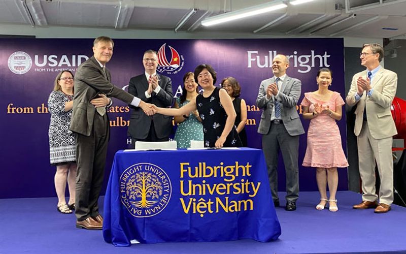 Fulbright University Vietnam receives USAID grant worth US$4.65 million