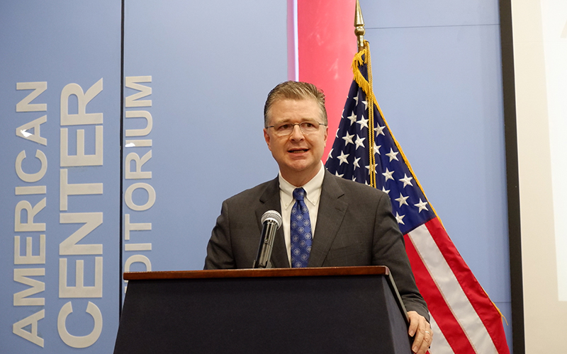 """Extraordinary progress of the US-Vietnam relationship is not an accident"": Ambassador Kritenbrink"