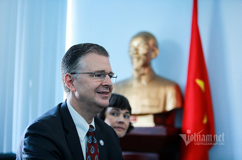 Solving war legacies helps build trust between US and Vietnam: Amb. Kritenbrink