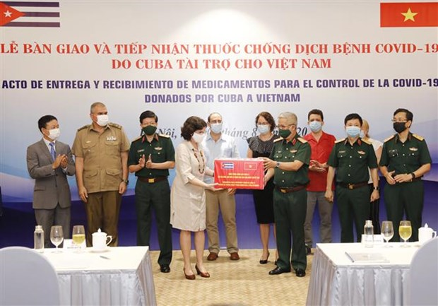 Cuba donates antiviral drug to help Vietnam cure Covid-19 patients