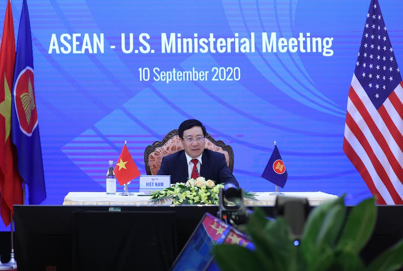 ASEAN welcomes US's constructive role in South China Sea