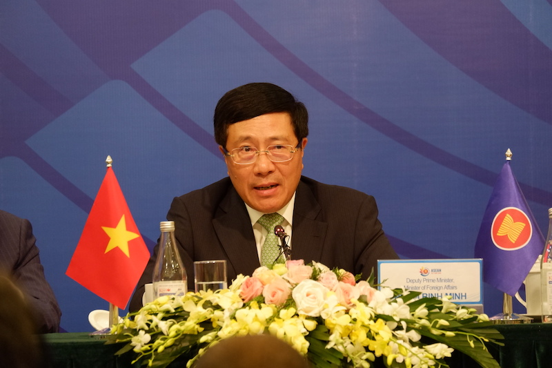 Vietnam says ASEAN doesn't want to get trapped between competition of major powers