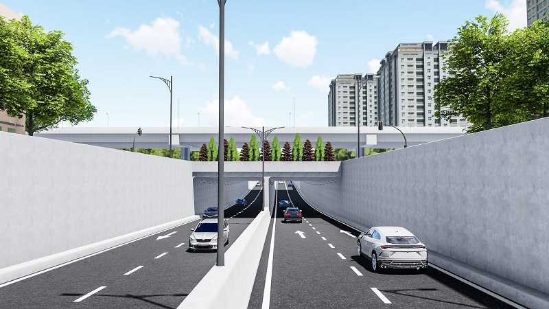 Hanoi to kick off tunnel construction at busy intersection