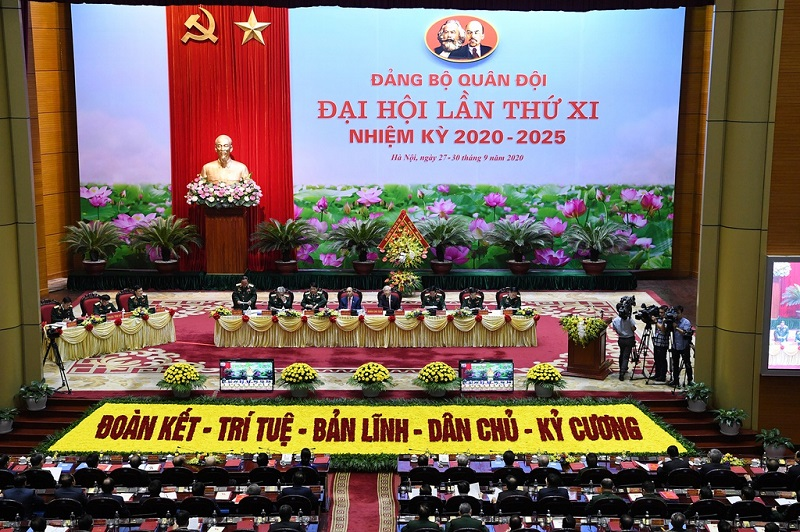 Vietnam president attends Army Party Congress