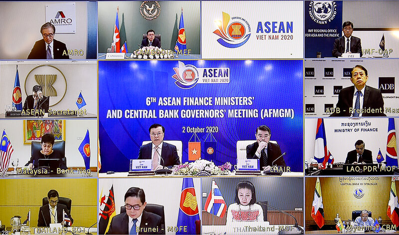ASEAN committed to deepening financial cooperation amid Covid-19 pandemic