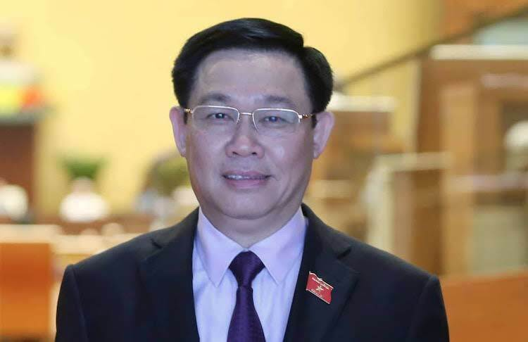 Politburo member Vuong Dinh Hue reelected Hanoi Party chief