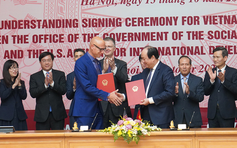US assists Vietnam's e-government capacity