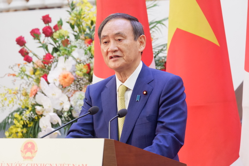Vietnam plays vital role in Japan's Indo-Pacific policy: PM Suga