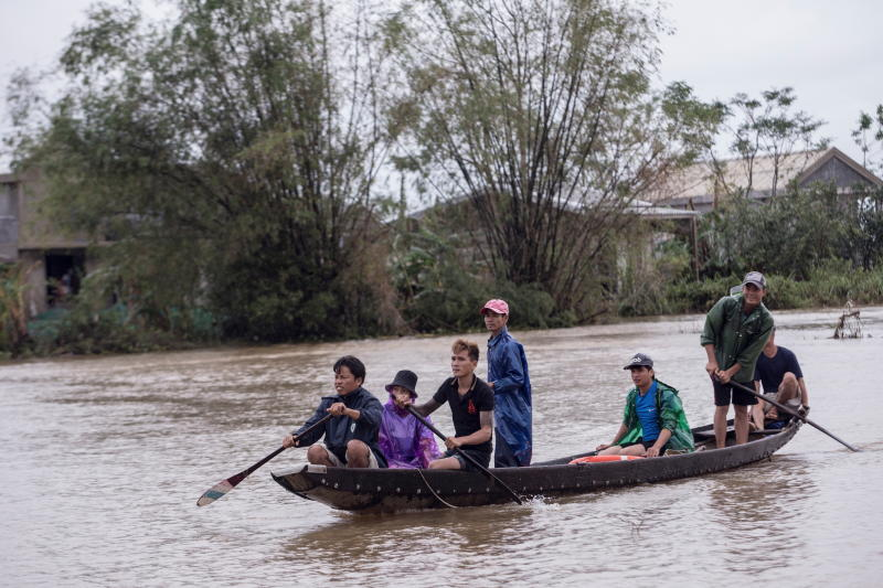 Central Vietnam may brace for another typhoon amid severe flooding