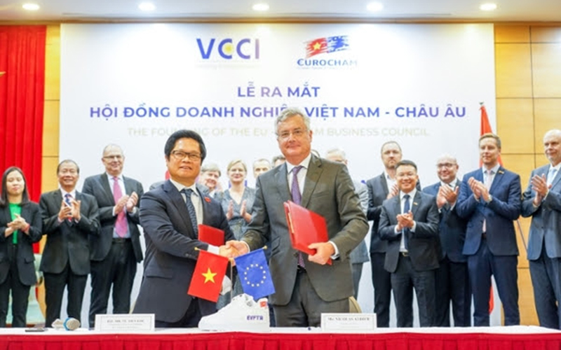 EU-Vietnam Business Council founded to support implementation of EVFTA