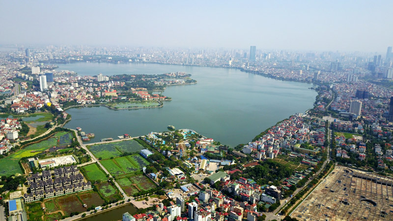 Hanoi to complete planning West lake