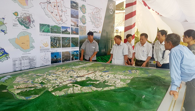 Hanoi speeds up completion of master plan of Hoa Lac township