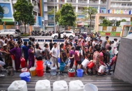 Water supply to some 250,000 families in Hanoi resumed after oil pollution