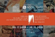 Int'l renown artists join fine artworks expo in Hanoi