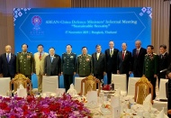ASEAN defense ministers concerned about regional security threats