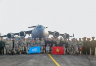 Vietnam sends off second group of peacekeeping field hospital staff to South Sudan