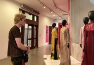 Iconic Ao Dai in different periods displayed at museum in Hanoi