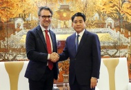 The EU works with Hanoi in sustainable development