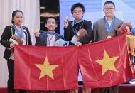 Vietnam students bag 15 gold medals at IMSO 2019