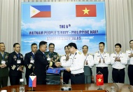 Vietnam, Philippines boost cooperation in maritime space