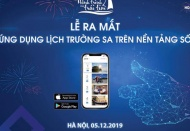 Truong Sa calendar app is available on App Store and Google Play