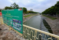 No technology can radically clean Hanoi's polluted river if sewage not treated: Mayor
