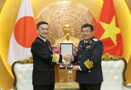 Japan Maritime Self-Defense Force calls for stronger ties with Vietnam