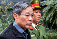 Former info minister gets life sentence for receiving bribery