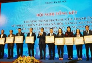 Hanoi attaches importance to cultural and social development