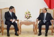 Vietnam PM seeks Japan's support in administrative reform