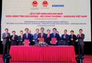 Samsung assists Vietnam enterprises in supporting industries