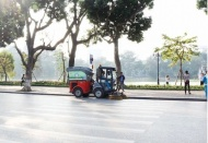 Hanoi's air quality on February 11 worsens to harmful level