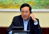 Vietnam, South Korea FMs talk after Hanoi's visa halt
