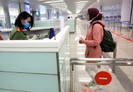 Hanoi tightens immigration at int'l airport