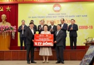 """BRG Group, SeABank donates VND5 billion to nation's """"fight Covid"""" campaign"""