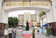 Largest hospital in Vietnam locked down after 12 Covid-19 patients found