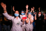 Vietnam largest hospital removed lockdown after two weeks