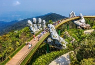 Vietnam Golden Bridge highlighted in int'l media
