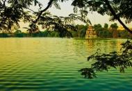 Iconic lakes in Hanoi