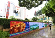 Colorful Hanoi celebrates national holidays