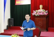 Hanoi Party chief urges more urgency for speedy economic recovery