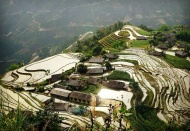 Vietnam's Northwest terraced paddy fields in snapshots