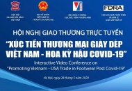 Vietnam to hold video conference promoting footwear trade with 60 US firms