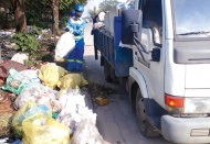 Hanoi downtown district persists in classifying waste at source