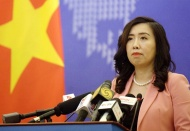 Vietnam protests China's military exercises in South China Sea