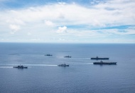 US intensifies operations in South China Sea after denouncing Beijing's maritime claims