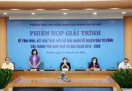 Quick disbursement of public investment essential to boost Hanoi's economic growth