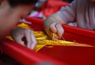 Hanoi village famous for making national flags in past 7 decades