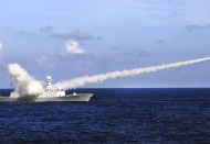 Hanoi protests Beijing's missile launch in South China Sea